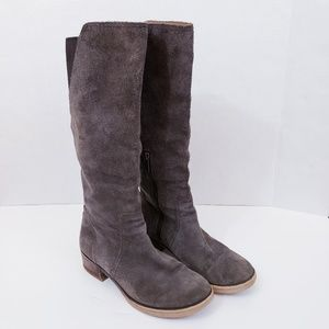 Lucky Brand Hanover tall suede riding boots Size 7